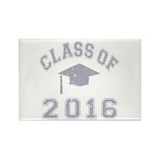 Class Of 2016 Graduation Rectangle Magnet