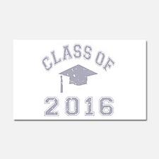 Class Of 2016 Graduation Car Magnet 20 x 12