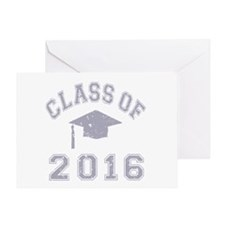 Class Of 2016 Graduation Greeting Card