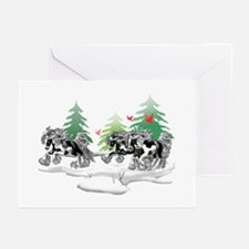 Gypsy Vanner White (D) Greeting Cards (Pk of 20)