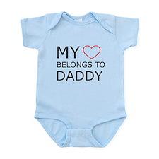 My Heart Belongs To Daddy Infant Bodysuit