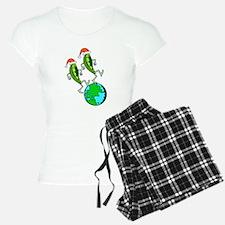 Christmas Peas on Earth Pajamas