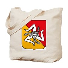 Sicily Coat of Arms Tote Bag