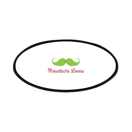 moustache lovers Patches