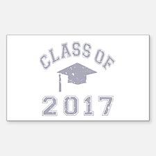 Class Of 2017 Graduation Decal