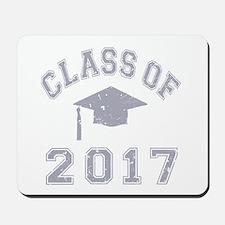 Class Of 2017 Graduation Mousepad