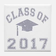 Class Of 2017 Graduation Tile Coaster