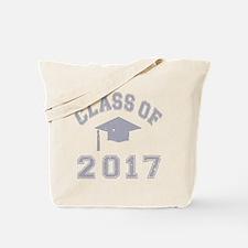 Class Of 2017 Graduation Tote Bag