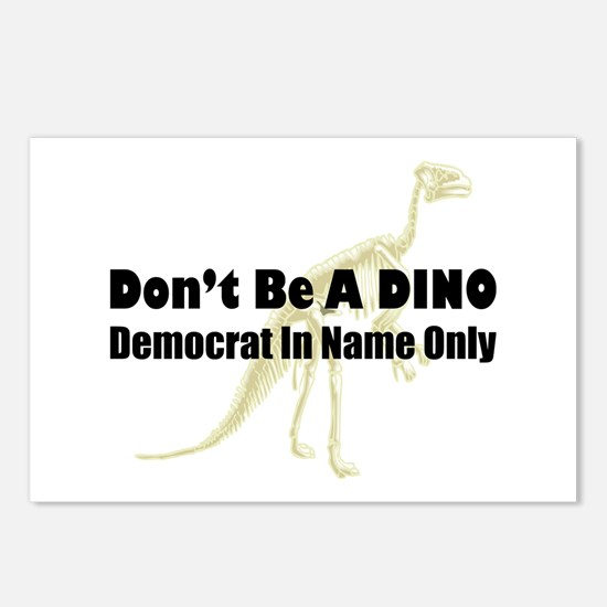 DINO Postcards (Package of 8)