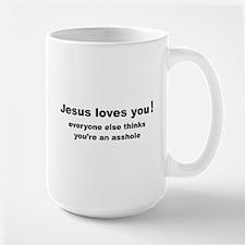 Jesus loves you ... Mug