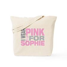 I wear pink for Sophie Tote Bag