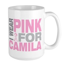 I wear pink for Camila Mug