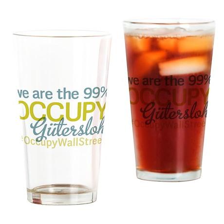Occupy Gutersloh Drinking Glass