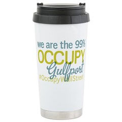 Occupy Gulfport Stainless Steel Travel Mug
