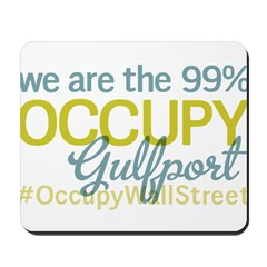Occupy Gulfport Mousepad