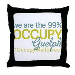 Occupy Guelph Throw Pillow
