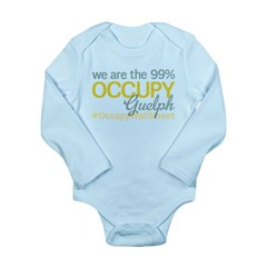 Occupy Guelph Long Sleeve Infant Bodysuit