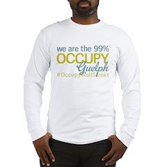 Occupy Guelph Long Sleeve T-Shirt
