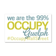 Occupy Guelph Car Magnet 20 x 12