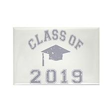 Class Of 2019 Graduation Rectangle Magnet