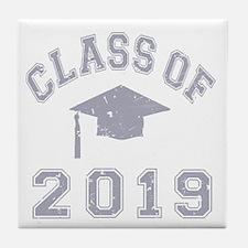 Class Of 2019 Graduation Tile Coaster
