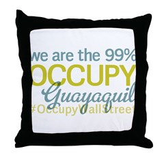 Occupy Guayaquil Throw Pillow