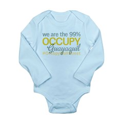 Occupy Guayaquil Long Sleeve Infant Bodysuit