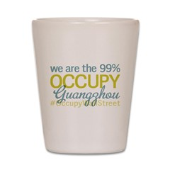 Occupy Guangzhou Shot Glass