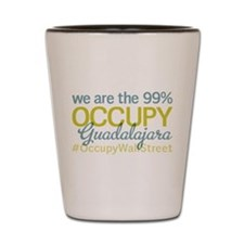 Occupy Guadalajara Shot Glass