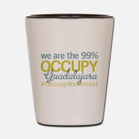 Occupy Guadalajara Shot Glass