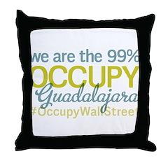 Occupy Guadalajara Throw Pillow