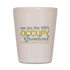 Occupy Groveland Shot Glass