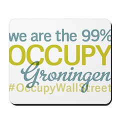 Occupy Groningen Mousepad