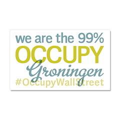 Occupy Groningen Car Magnet 20 x 12