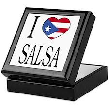 "Puerto Rican ""I Love Salsa"" Keepsake Box"