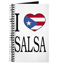"Puerto Rican ""I Love Salsa"" Journal"