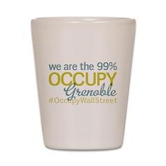 Occupy Grenoble Shot Glass