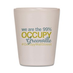 Occupy Greenville Shot Glass