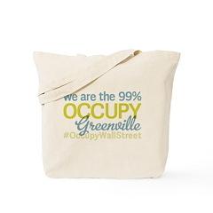 Occupy Greenville Tote Bag