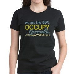 Occupy Greenville Women's Dark T-Shirt