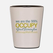 Occupy Great Barrington Shot Glass