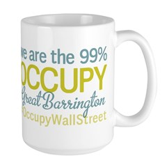 Occupy Great Barrington Large Mug