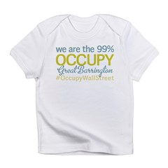 Occupy Great Barrington Infant T-Shirt