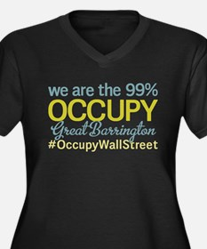 Occupy Great Barrington Women's Plus Size V-Neck D