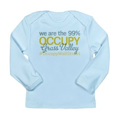 Occupy Grass Valley Long Sleeve Infant T-Shirt