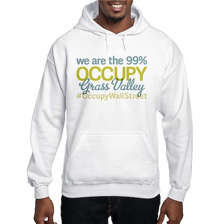 Occupy Grass Valley Hooded Sweatshirt
