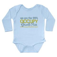 Occupy Grants Pass Long Sleeve Infant Bodysuit