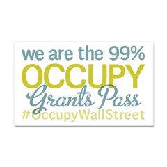 Occupy Grants Pass Car Magnet 20 x 12