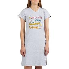 Wild Wacky Grammy Women's Nightshirt