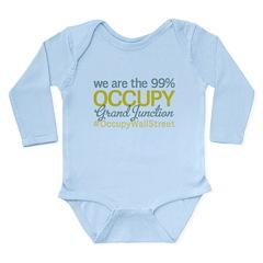 Occupy Grand Junction Long Sleeve Infant Bodysuit